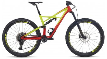 Specialized S-Works Enduro FSR Carbon 29 / 650B+ MTB Komplettbike nordic red/hyper green/black Mod. 2017
