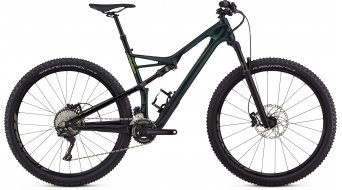 "Specialized Camber FSR Comp carbon 29"" MTB bike cav green/hyper green 2018"