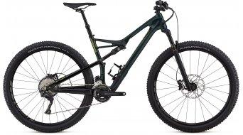 "Specialized Camber FSR Comp carbono 2X 29"" MTB bici completa tamaño L cav verde/hyper verde Mod. 2018"