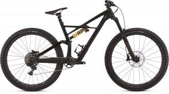 """Specialized Enduro FSR Coil carbon 29"""" MTB fiets maat L tarmac black/tarmac black/goud model 2018"""