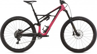 "Specialized Enduro FSR Elite carbono 29"" MTB bici completa tamaño L acid pink/carbono Mod. 2018- BICI DE PRUEBA N°. 15"