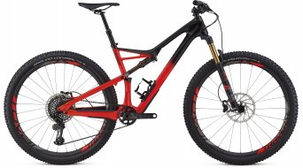 "Specialized S-Works Camber FSR Carbon 29"" MTB Komplettrad black/rocket red Mod. 2018"