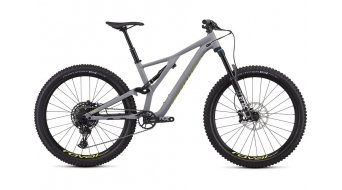 "Specialized Stumpjumper FSR Comp 27.5"" MTB Komplettrad cool gray/team yellow Mod. 2019"