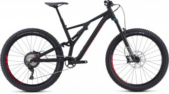 "Specialized Stumpjumper FSR Comp 27.5"" MTB Komplettrad satin/black/flo red Mod. 2019"