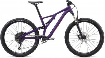 "Specialized Stumpjumper FSR ST 27.5"" MTB Komplettrad Damen-Rad satin gloss /plum purple/acid lava Mod. 2019"