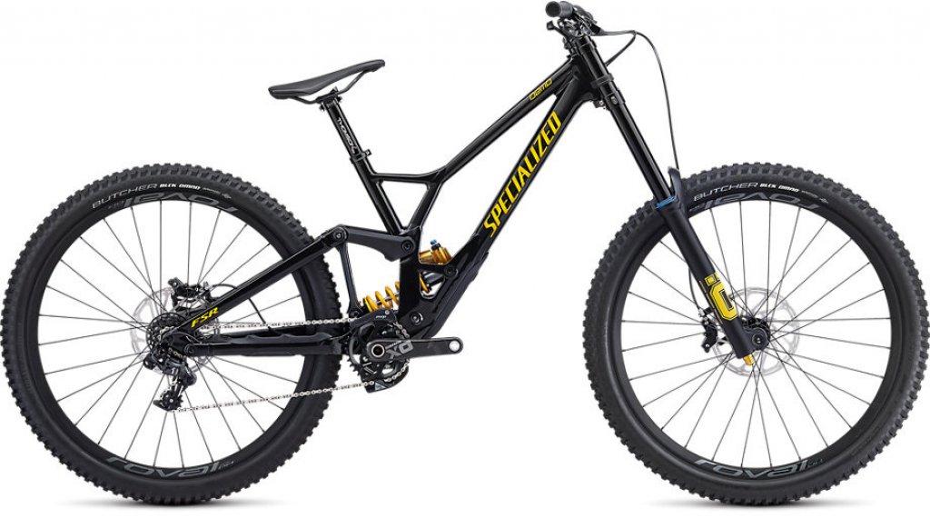 "Specialized Demo Race 29"" MTB Komplettrad Gr. S2 gloss metallic black/burnt yellow Mod. 2020"
