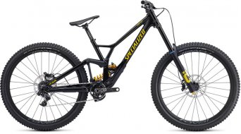 "Specialized Demo Race 29"" MTB bici completa mis. S2 gloss metallico nero/burnt giallo mod. 2020"