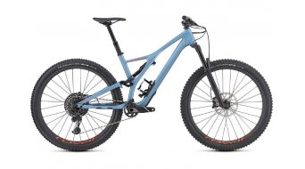 "Specialized Stumpjumper FSR Expert Carbon 29"" MTB Komplettrad gloss/storm grey/rocket red Mod. 2019 - TESTBIKE Nr."
