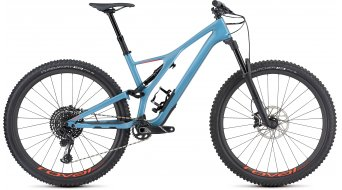 "Specialized Stumpjumper FSR Expert Carbon 29"" MTB Komplettrad gloss/storm grey/rocket red Mod. 2019"