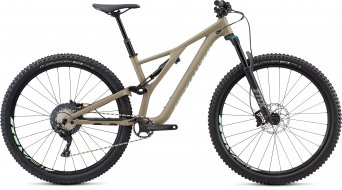 "Specialized Stumpjumper FSR ST Comp 29"" MTB bike ladies version satin/taupe/acid kiwi 2019"