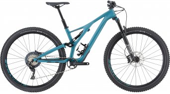 "Specialized Stumpjumper FSR ST Comp carbon 29"" MTB bike ladies version size L satin/dusty turquoise/copper 2019"