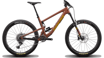 Santa Cruz Bronson 3 CC 27.5+ MTB bike X01- kit red tide 2020