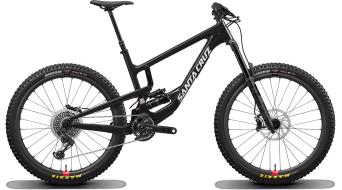 "Santa Cruz Nomad 4 CC 27.5"" MTB bike X01- kit/RockShox Super Deluxe Ultimate-shock/Reserve- wheels gloss carbon 2020"