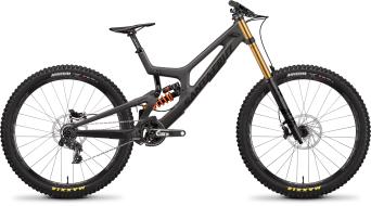 """Santa Cruz V10 CC DH 27.5"""" MTB komplett kerékpár X01-szett Méret M matte karbon 2020 Modell"""