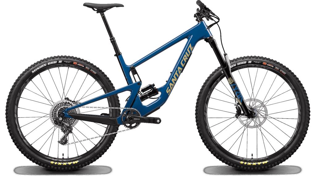 "Santa Cruz Hightower 2 CC 29"" MTB Komplettrad X01-Kit Gr. S highland blue Mod. 2020"