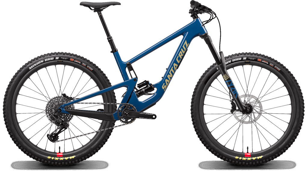 "Santa Cruz Hightower 2 C 29"" MTB Komplettrad S-Kit / Reserve-Laufräder Gr. S highland blue Mod. 2020"