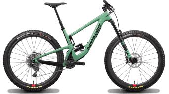 "Santa Cruz Megatower 1 CC 29"" MTB fiets X01- kit/RockShox Super Deluxe Ultimate-schokdemper/Reserve- wielen maat. M fs green model 2020"