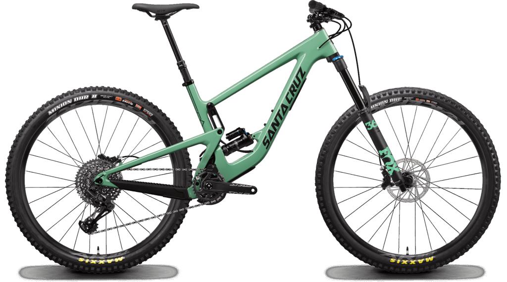 "Santa Cruz Megatower 1 C 29"" MTB Komplettrad S-Kit / RockShox Super Deluxe Select+-Dämpfer Gr. S fs green Mod. 2020"