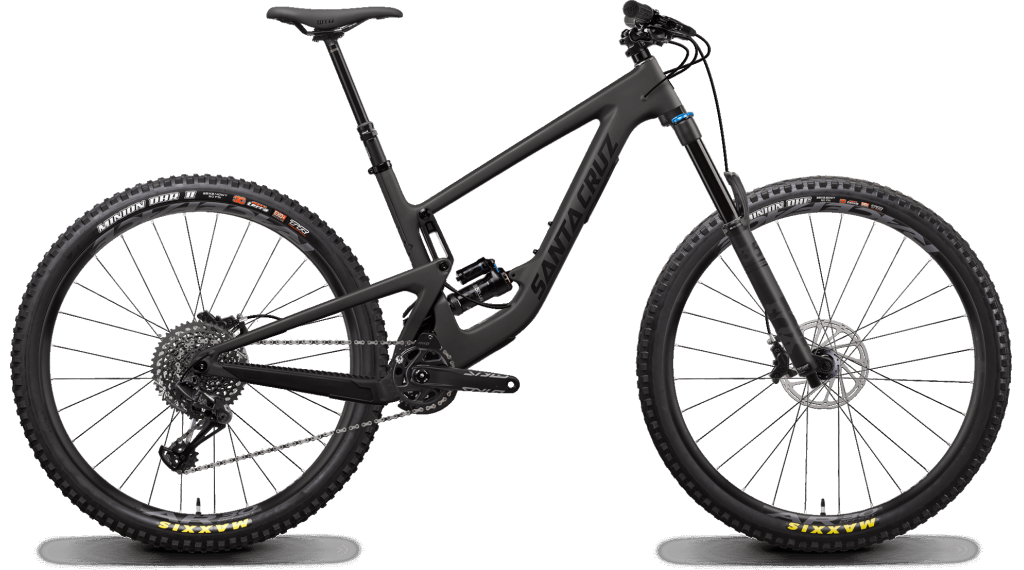 "Santa Cruz Megatower 1 C 29"" MTB Komplettrad S-Kit / RockShox Super Deluxe Select+-Dämpfer Gr. S blackout Mod. 2020"