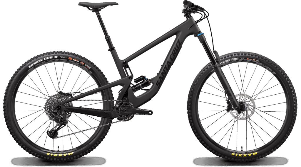"Santa Cruz Megatower 1 C 29"" MTB bici completa S- kit/RockShox Super Deluxe Select+- ammortizzatore mis. S blackout mod. 2020"