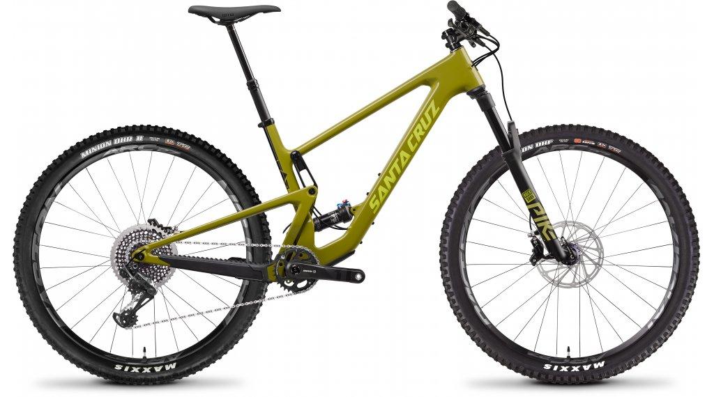 "Santa Cruz Tallboy 4 CC 29"" MTB bike X01- kit size S rocksteady yellow and yellow 2020"