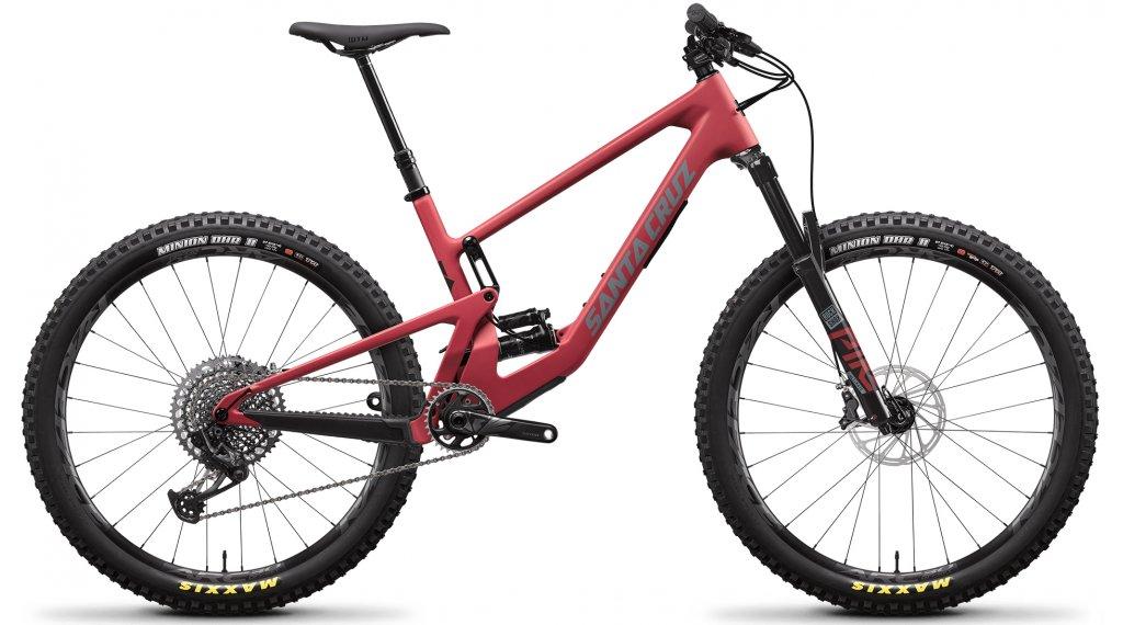 Santa Cruz 5010 4 CC 27.5 MTB bici completa X01-Kit tamaño XS raspberry sorbet Mod. 2021