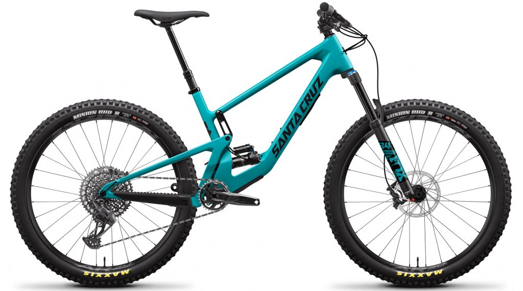 Santa Cruz 5010 4 C 27.5 MTB bici completa S-Kit tamaño M loosely azul Mod. 2021