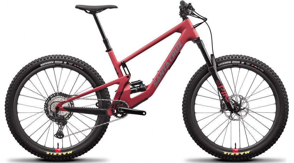 "Santa Cruz 5010 4 C 27.5"" MTB Komplettrad XT-Kit / Reserve-Laufräder Gr. M raspberry sorbet Mod. 2021"