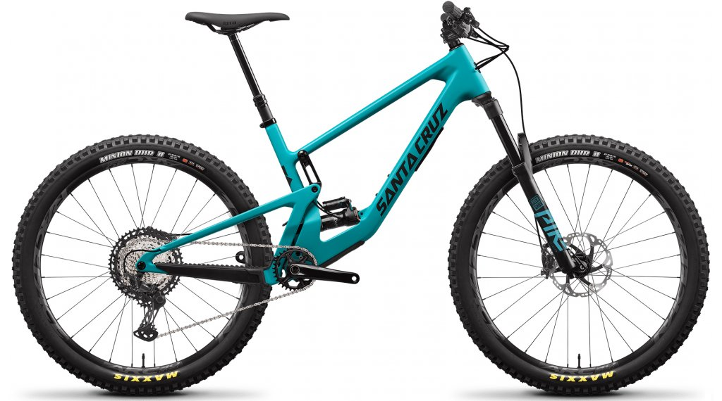 Santa Cruz 5010 4 C 27.5 MTB bici completa XT-Kit tamaño XS loosely azul Mod. 2021