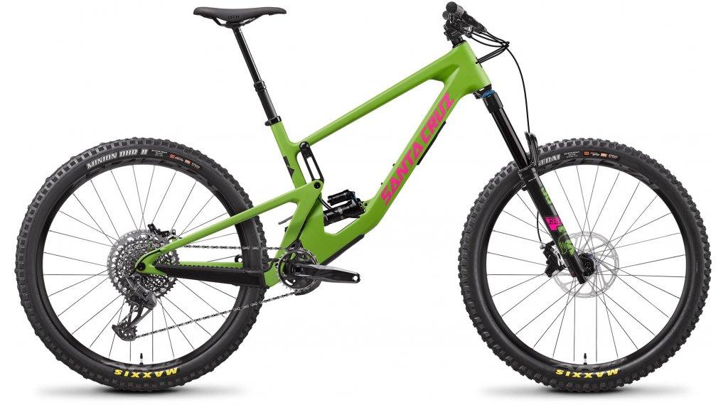 """Santa Cruz Nomad 5 C 27.5"""" MTB Komplettrad S-Kit Gr. L adder green Mod. 2021"""