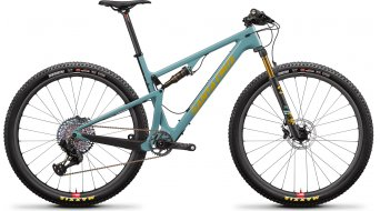 Santa Cruz Blur 3 CC 29 VTT vélo XX1 AXS- kit / Reserve-roue Gr. M gloss aqua Mod. 2021