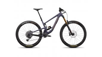 Santa Cruz Megatower 1 CC 29 MTB bike X01- kit /  FOX  DHX2 Factory Coil-shock size XL storm grey 2021