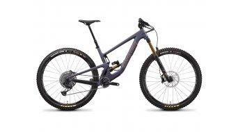 Santa Cruz Megatower 1 CC 29 MTB bici completa X01- kit /  FOX  Float Factory X2- ammortizzatore mis. S storm grigio mod. 2021