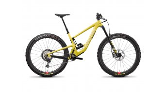Santa Cruz Megatower 1 C 29 MTB bike XT- kit / RockShox Super Deluxe Select+-shock / Reserve- wheels size M amarillo yellow 2021