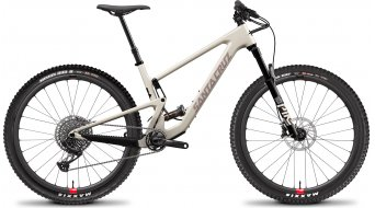 Santa Cruz Tallboy 4 CC 29 MTB bike X01- kit / Reserve- wheels size XXL ivory 2021
