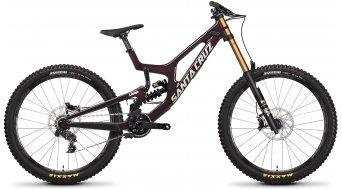 Santa Cruz V10 7 CC 27.5 MTB Komplettrad XO1-Kit Gr. S oxblood Mod. 2022