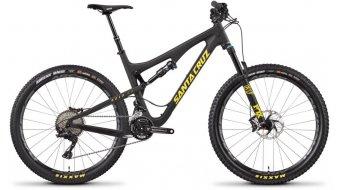 """Santa Cruz 5010 2.1 CC 27.5"""" bici completa tamaño M negro color apagado/amarillo XT AM-equipamiento Mod. 2017"""