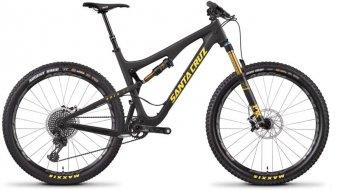 "Santa Cruz 5010 2.1 CC 27.5"" bici completa tamaño M matte carbono/amarillo XX1 AM-equipamiento Mod. 2017"
