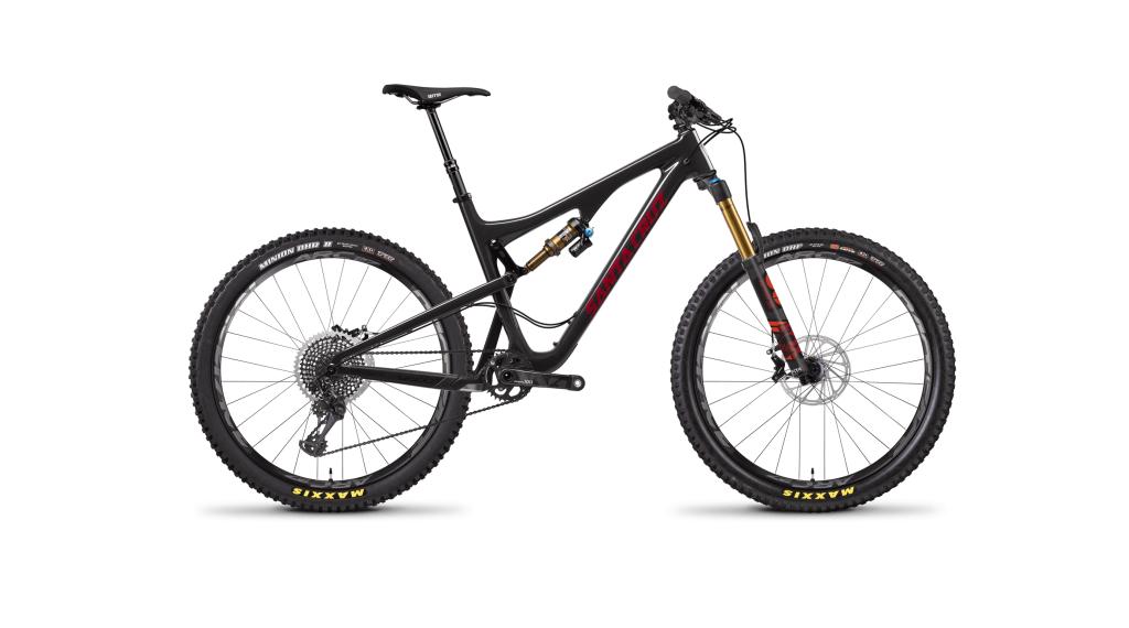 """Santa Cruz Bronson 2.1 CC 27.5"""" úplnýrad XX1-sada velikost L black model 2018"""