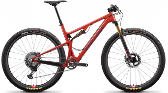 "Santa Cruz Blur XC3 CC Trail 29"" bike XTR- kit/Reserve- wheels size M sun set 2019- scratch in the saddle tube bereich + scratch on fork Casting"