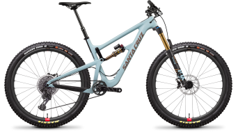 "Santa Cruz Hightower LT 1 CC 29"" bike XX1- kit/Reserve- wheels size XL skye blue 2019"