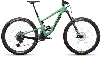 "Santa Cruz Megatower 1 C 29"" bike S- kit/RockShox Super Deluxe Coil Select+-shock size M fs green 2019"