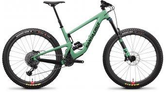 """Santa Cruz Megatower 1 C 29"""" bici completa S- kit/Reserve-ruote complete/RockShox Super Deluxe Select+- ammortizzatore mis. L per green mod. 2019"""
