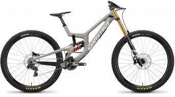 "Santa Cruz V10.7 CC 29"" bike X01- kit size M grey 2019"