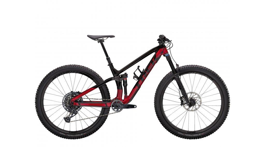 Trek Fuel EX 9.8 GX 27.5 MTB Komplettrad Gr. S raw carbon/rage red Mod. 2021