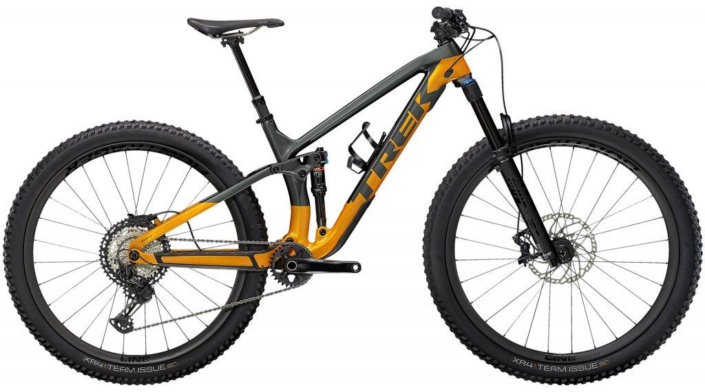 Trek Fuel EX 9.8 XT 29 MTB Komplettrad Gr. M lithium grey/factory orange Mod. 2021
