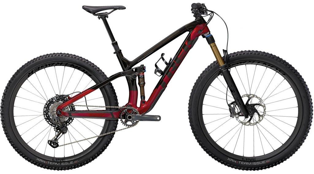 Trek Fuel EX 9.9 XTR 29 MTB Komplettrad Gr. L raw carbon/rage red Mod. 2021