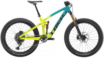 "Trek Remedy 9.9 27,5""/650B MTB Komplettrad teal to volt fade Mod. 2020"