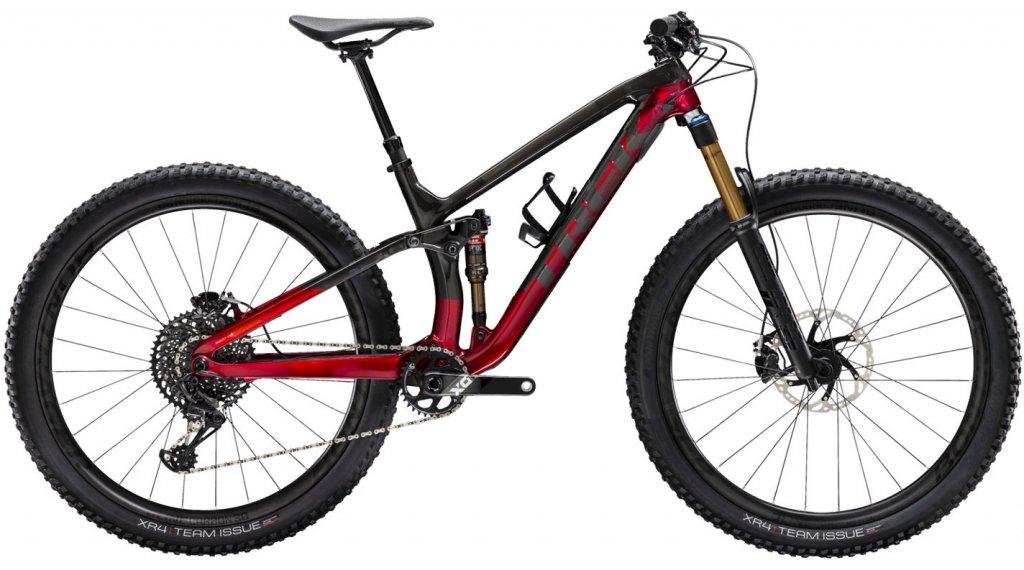 """Trek Fuel EX 9.9 29"""" MTB Komplettrad Gr. S raw carbon/rage red Mod. 2020"""
