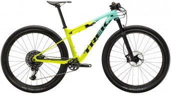 "Trek Supercaliber 9.8 GX 29"" MTB(山地) 整车 型号 ML Miami green to volt fade 款型 2020"